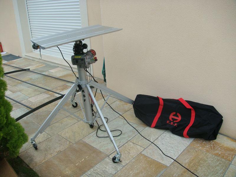 sollevatore telescopico elettrico CM 520