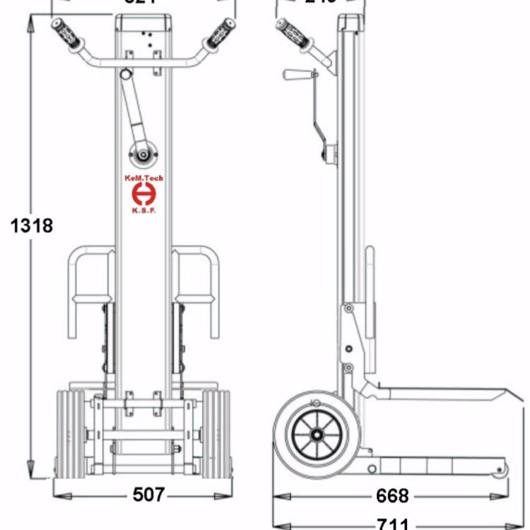Sollevatore Manuale | ML 2-F