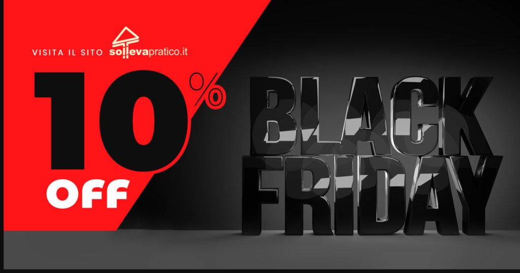 black friday sollevatori 2019