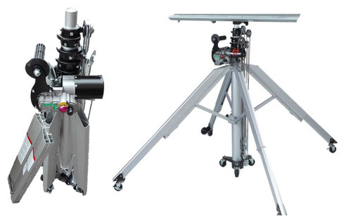 sollevatore-telescopico manuale portatile
